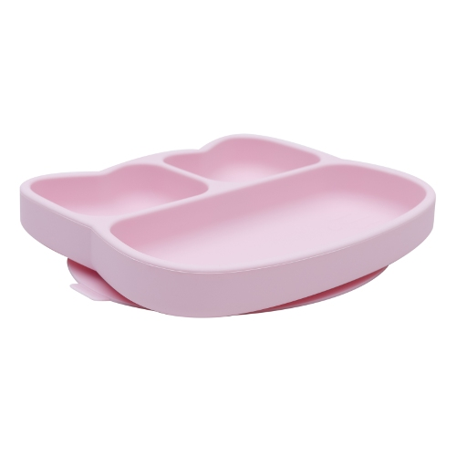 We Might Be Tiny - Stickie Plate kat Powder Pink zijkant