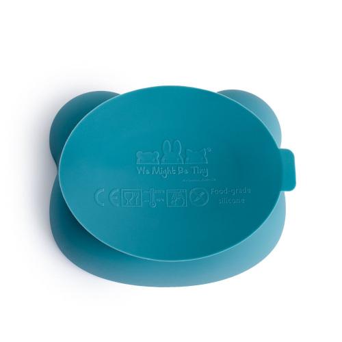 Sticky Bowl Blue Dusk onderkant - We Might Be Tiny