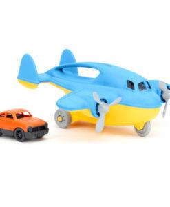 Green Toys - Vrachtvliegtuig met auto