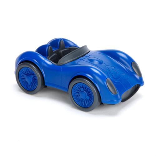 Race auto blauw - Green Toys